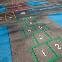hopscotch marking