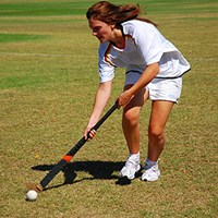 girl playing sport