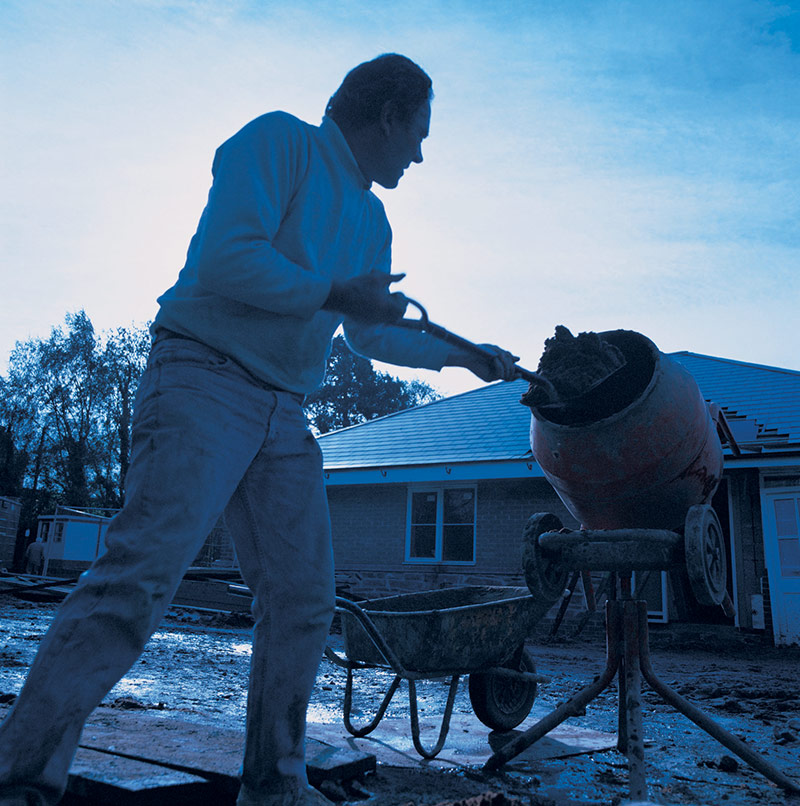 Builder and mixer