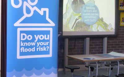 Do you know your flood risk banner
