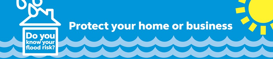 Flood risk banner