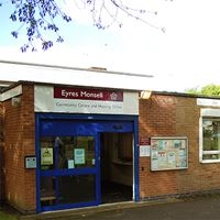 Eyres Monsell self-service library