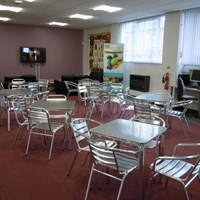 African Caribbean centre community lounge