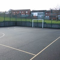 Coleman Neighbourhood Centre ball court