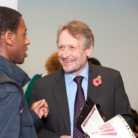 Peter Soulsby meets the public
