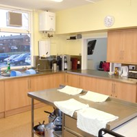 Eyres Monsell community centre kitchen
