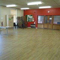 Rushey Mead Recreation Centre main hall