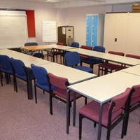 St Matthews community centre learning room