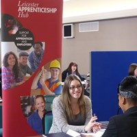 Leicester Apprenticeship Hub interview