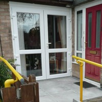 Front of house wheelchair access