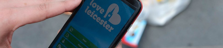 Love Leicester phone app