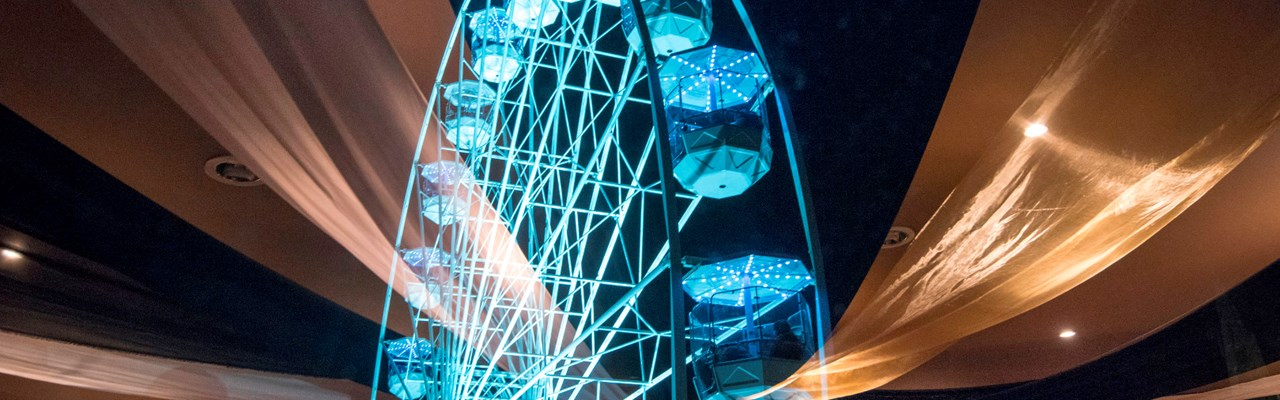 Image of the Wheel of Light in Jubilee Square