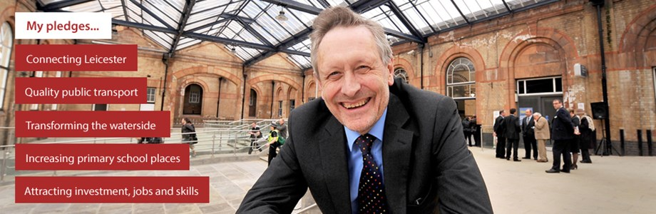 City Mayor - Peter Soulsby five pledges