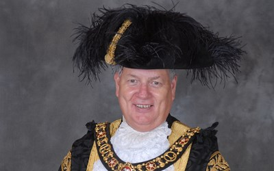 Lord Mayor 2016 to 2017 Councillor Stephen Corrall