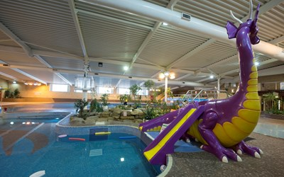 Dragon slide at Leicester Leys pool