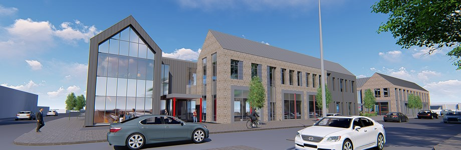 Waterside front artist impression
