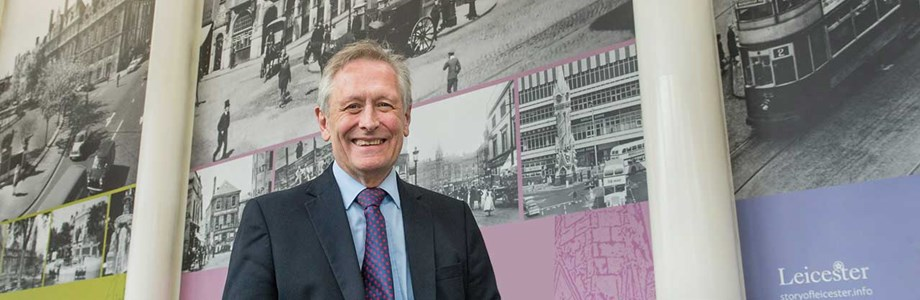 City Mayor Peter Soulsby