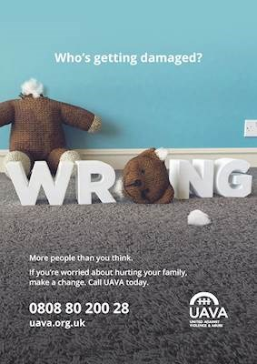 Domestic violence campaign - 'Wrong'